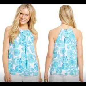 Lilly Pulitzer for Target Blue Sea Urchin Halter